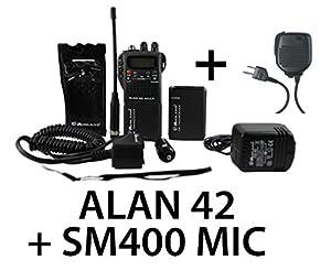 midland alan 42 multi handheld cb transceiver radio with. Black Bedroom Furniture Sets. Home Design Ideas