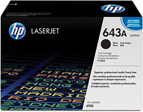 4700 Laser (HP 643A Schwarz Original LaserJet Tonerkartusche)