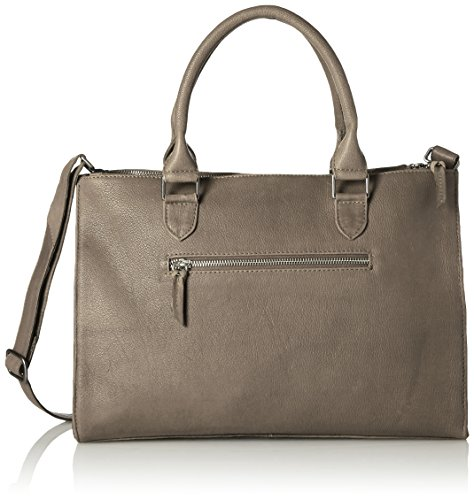 Amsterdam Cowboys Damen Bag Fazeley Schultertaschen, Grau (Grey 140), 39x28x15 cm
