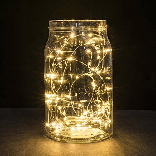 Gaddrt Kreativ 1M String Fairy Light 10 LED Batterie betrieben Xmas Lights Party Hochzeit Lampe,Gelb