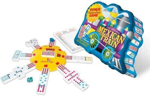 Mexican Mexican Mexican Train D12   Dots in Tin Board Game by Puremco B01A9QCOUI ceb171