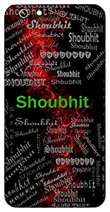 Shoubhit (Lord Krishna) Name & Sign Printed All over customize & Personalized!! Protective back cover for your Smart Phone : One Plus Three / One Plus 3