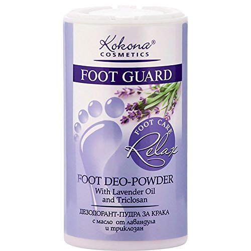 Foot Guard Relax Desodorante Polvo Pies Lavanda 50g