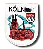 Köln Aufnäher - Dom Wappen Deutschland Germany Aufnäher Geschenk Geburtstag T-Shirt