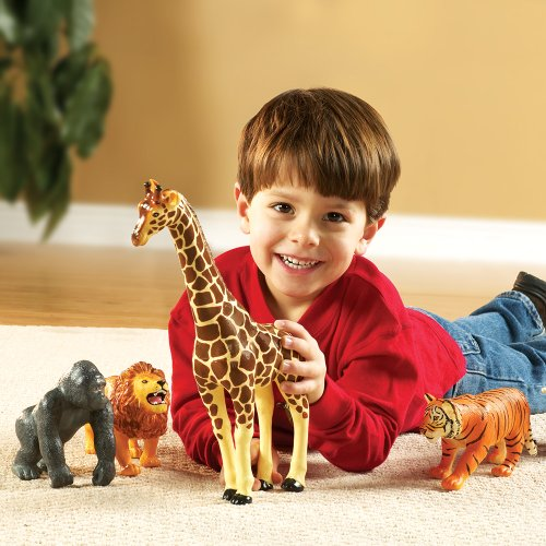 Learning Resources Learning Resources Jumbo Jungle Animals