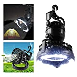 #9: Kawachi 2 in 1 Portable Led Tent Camping fan Light with Ceiling Fan Outdoor Hiking fishing lamp Flashlight Outdoor Hiking Lamp Lantern Flashlight and Ceiling Fan for Outdoor K386
