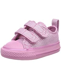 Converse Unisex Kids' CTAS 2v Ox Light Orchid Trainers