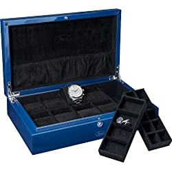 New Beco Watch Collectors Boxes in Limited Edition Colour Blue 309309