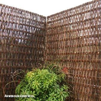 Videx-Sichtschutzwand Weide Toulouse, 150 x 90cm