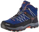 CMP Unisex-Erwachsene Rigel Mid Trekking- & Wanderstiefel, Blau (Marine-Tango 05md),34 EU