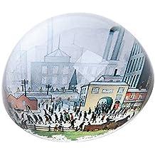 L S Lowry–procedentes de la fábrica Pisapapeles de cristal