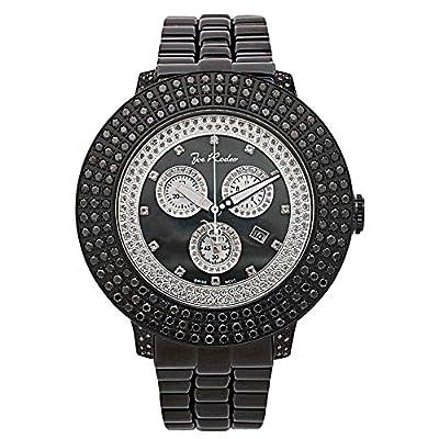 Joe Rodeo Diamond Men's Watch - Pilot Black 7.85 ctw