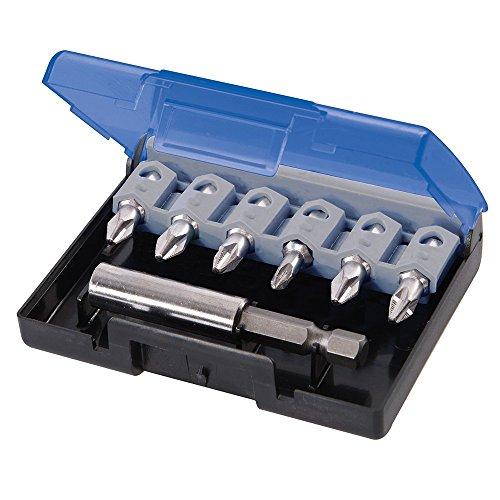 Silverline 634433 antiscivolo, S2-Set di cacciaviti, 7 pezzi