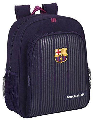 FC Barcelona Mochila Escolar, 38 cm, Morado