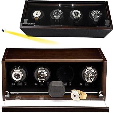 Remontoir montres BECO CASTLE 4plus NOYER LED 2017