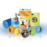 Tai Cheng 90-Tagen lernen und praktizieren Tai Chi Programm, 12 Workouts auf 5 DVDs, Ernährungsplan und Schaumstoffrolle (in Englischer sprache)