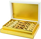 Baklava Gift Box | Baked and packed to order only Guarantee | 1kg | Assorted Baklawa Baklava Home Made Recipe Freshly Baked and Shipped UK (1 KG)