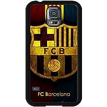 Futbol Club Barcelona Cover funda de For Samsung Galaxy S5,FC Logo Hard funda de Shock Proof funda de
