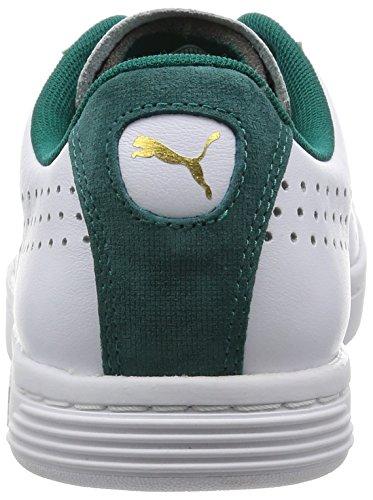 Puma Unisex-Erwachsene Court Star Craft S6 Sneaker White (White-Storm)