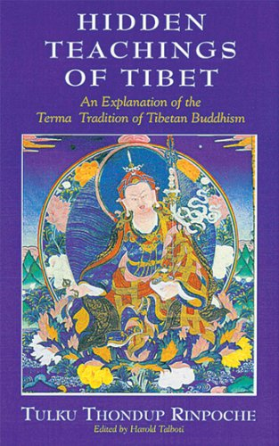 The Hidden Teachings of Tibet: An Explanation of the Term Tradition