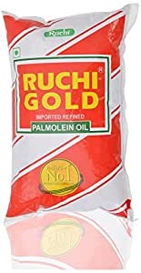 Ruchi Gold Imported Refined Palmolein Oil - 1 Litre