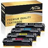 Arcon Kompatible Tonerkartusche für HP 410A HP410A CF410A CF411A CF412A CF413A HP 410X CF410X HP410X HP Color Laserjet Pro M477 M477FDW M477FDN M477FNW M452 M452DN M452DW M452NW M377 M377DW Toner