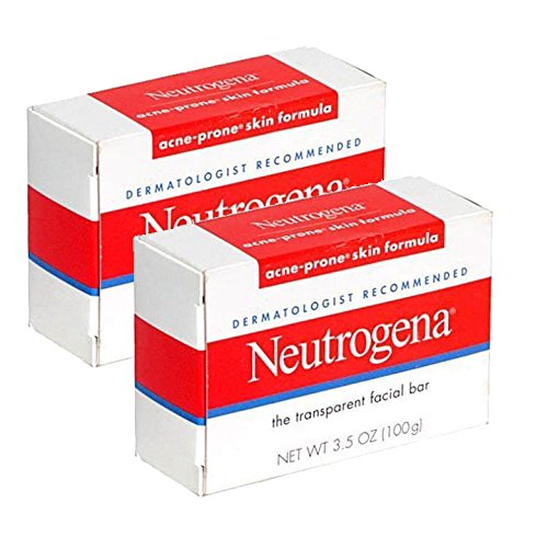 Neutrogena acne-prone Skin formula Transparent Facial bar 100ml (confezione da 2)