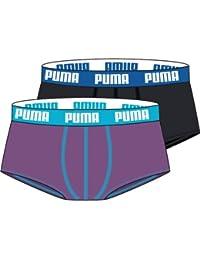 Puma Basic - Boxer - Lot de 2 - Uni - Homme