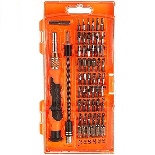 Magnetische Schraubendreher Set, iAmer 58-in-1 mit 54 magnetischen Schraubendrehersatz Driver Kit, Präzisions Schraubenzieher Set, Reparaturset Tool für Elektronik/ XBOX/Smartphone/Tablet/PC/MacBook