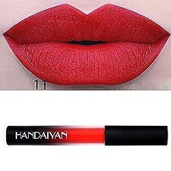 9th Avenue 11: 12 Colors Lip Tint Matte Red Lip Liquid Lipstick Cosmetics Stick Nude Gloss Lip Beauty Waterproof Moisturizer Makeup Lip Colors