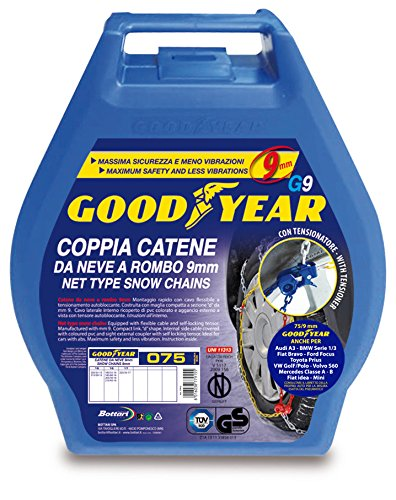 Catene Neve Good Year, Taglia 100, 2 pezzi