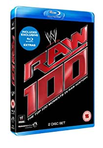 WWE: RAW - Top 100 Moments [Blu-ray]