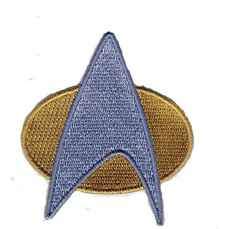 Star Trek Space Exploration Kirk Communicator Insignia Badge Aufnäher Patch (Insignia Star Trek Patch)