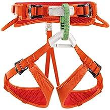 Petzl Klettergurte Macchu - Arnés de escalada, color naranja, talla one size