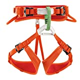 Petzl Kinder Klettergurte Macchu, orange, One Size