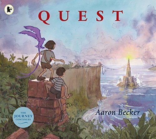 Portada del libro Quest by Aaron Becker (2015-08-06)