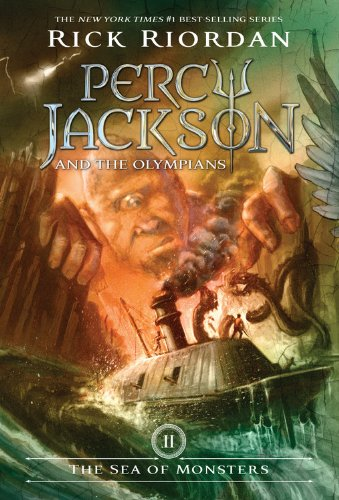 Buchseite und Rezensionen zu 'Percy Jackson and the Olympians, Book Two The Sea of Monsters (Percy Jackson & the Olympians)' von Rick Riordan