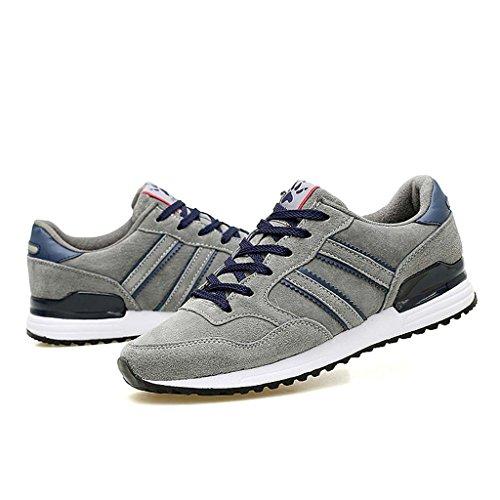 ZXCV Scarpe all'aperto Scarpe casual scarpe sportive da uomo Grigio