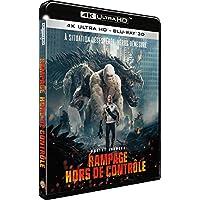 Rampage - Hors de Contrôle - Edition Limitée Steelbook BluRay 4K Ultra HD + 3D