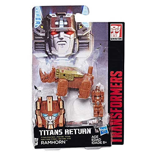 Transformers Gen Titan Master Ramhorn Action Figure (Action Master Transformers)