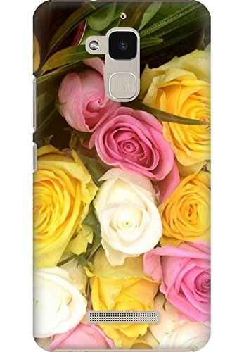 Amez designer printed 3d premium high quality back case cover for Asus Zenfone Pegasus 3 X008 (Colorful Beautiful Rose Bouquet Flowers)  available at amazon for Rs.249