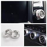 Emblem Trading Radio Klima Heizungsregler Schalter Ringe Passend Für Golf 7 Tiguan 2 Passat B8 GTI GTD R GTE Rline TSI