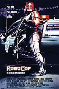 Posters: RoboCop Poster - Part Man, Part Machine, All Cop, 1987 (36 x 24 inches)