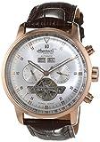 Ingersoll Herren-Armbanduhr Okies Chronograph Automatik Leder IN4511RSL