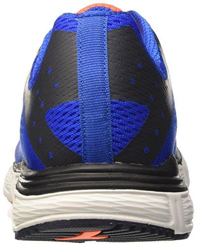 Diadora Action Plus, Scarpe da Corsa Uomo Blu (Azzurro/Bianco)