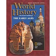 World History: The Human Experience : The Early Ages by Mounir A. Farah (1998-08-30)
