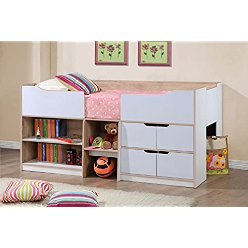 room with full beds brwon wood in storage design size color twin dark kids drawers strong dresser beautiful bed for best extra bunk built bun finish of over classic and look