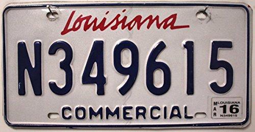 USA Nummernschild LOUISIANA ~ US Kennzeichen ~ Blechschild