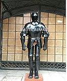 Nauticalmart plaque Armour médiéval Zelda Knight Full Combinaison d'Armour Wearable Armour Finition noire Armour Costume d'Halloween