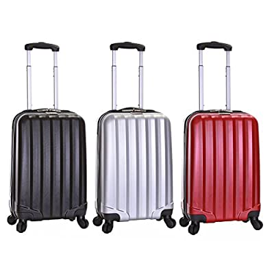Slimbridge Banff 55 cm Cabin Approved Hard Suitcase - low-cost UK light shop.